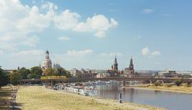 Verano en Dresden Foto de archivo