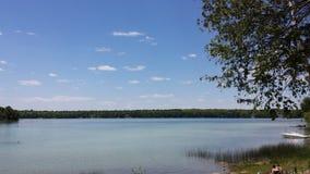 Verano en el lago Imagenes de archivo