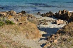 Verano en la isla de Cerdeña Imagen de archivo
