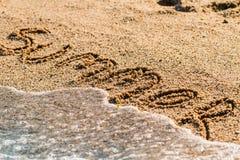 Verano en la playa Fotos de archivo