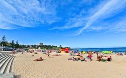 Verano en la playa de Coogee Foto de archivo libre de regalías