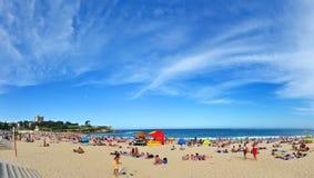 Verano en la playa de Coogee Fotos de archivo libres de regalías
