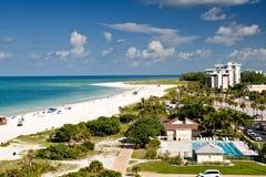 Verano en la playa de Lido, la Florida Imágenes de archivo libres de regalías