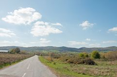 Verano en las colinas de Malvern Imagenes de archivo