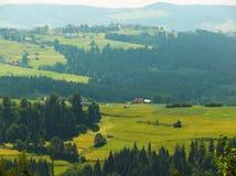 Verano en las montañas Imagen de archivo