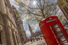 Verano en Londres Foto de archivo libre de regalías