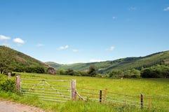 Verano en los faros de Brecon de País de Gales Imagen de archivo