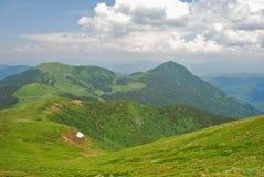 Verano en montañas Fotos de archivo libres de regalías