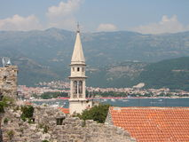 Verano en Montenegro fotografía de archivo