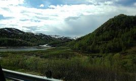 Verano en Noruega Imagenes de archivo