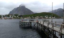 Verano en Noruega Imágenes de archivo libres de regalías