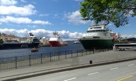 Verano en Noruega Fotografía de archivo libre de regalías