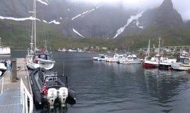 Verano en Noruega Imagen de archivo libre de regalías