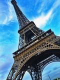 Verano en París Foto de archivo libre de regalías
