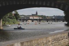 Verano en Praga Foto de archivo libre de regalías