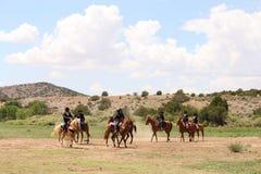 Verano equino Fest de Las Golondrinas de la demostración. Fotos de archivo