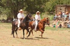Verano equino Fest de Las Golondrinas de la demostración. Foto de archivo libre de regalías