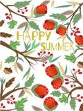 Verano feliz Imagen de archivo libre de regalías