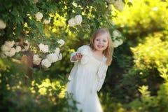 Verano feliz del niño Fotografía de archivo libre de regalías