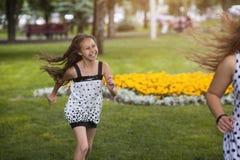 Verano feliz Tiempo libre activo en parque Fotografía de archivo libre de regalías