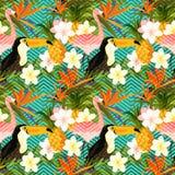 Verano geométrico tropical Imagen de archivo