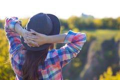 Verano - muchacha al aire libre Fotografía de archivo