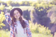 Verano - muchacha al aire libre Fotografía de archivo libre de regalías