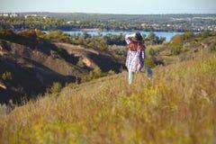 Verano - muchacha al aire libre Imagen de archivo