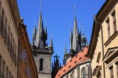 Verano Praga Imagen de archivo libre de regalías