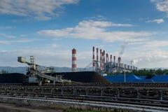 Verarbeitung in der Kohlengrube Lizenzfreie Stockbilder