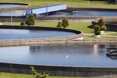 Verarbeitungsanlage des Wassers Lizenzfreie Stockfotos