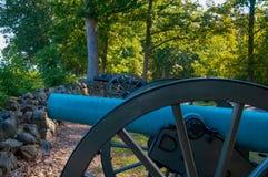 Verbündete Kanonen auf Priesterseminar Ridge lizenzfreies stockbild