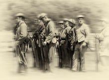 Verbündete Soldaten Lizenzfreie Stockbilder
