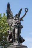 Verbündete Soldaten und Seeleute von Maryland-Monument Lizenzfreies Stockbild