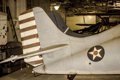 Verbündetes Flugzeug des Zweiten Weltkrieges Stockbilder