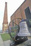 Verbündetes Pulver arbeitet, größte Munitionsanlage während des Bürgerkrieges, Augusta, Georgia lizenzfreies stockfoto