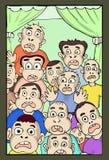 Verbaasde gezichten Stock Afbeelding