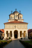 Verbands-Kathedrale in Alba Iulia, Rumänien Lizenzfreies Stockfoto