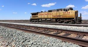 Verbands-Pazifik-Lokomotive Stockfoto