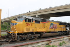 Verbands-pazifische Eisenbahn-Lokomotive 3917 Lizenzfreie Stockfotografie