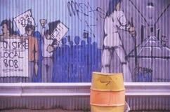 Verbandskunst des Einheimisch-808 im Queens, New York lizenzfreies stockfoto
