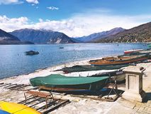 Verbania, Italy Lago Maggiore royalty free stock image