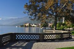 Verbania Pallanza, озеро Maggiore, Италия стоковые изображения