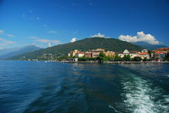 Verbania Pallanza, lake Maggiore, Italy Royalty Free Stock Images