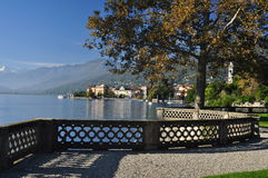 Verbania Pallanza, lake Maggiore, Italy Stock Images