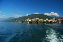 Verbania Pallanza, See Maggiore, Italien lizenzfreie stockbilder