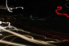 Verbazend abstract straatlantaarnsbehang Royalty-vrije Stock Afbeeldingen