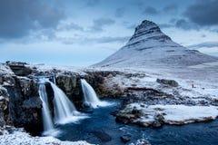 Verbazend Ijslands landschap royalty-vrije stock foto's