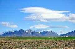 Verbazend Ijslands landschap Stock Fotografie