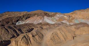 Verbazend Kunstenaarspalet bij het Nationale Park van de Doodsvallei in Californië Royalty-vrije Stock Afbeelding